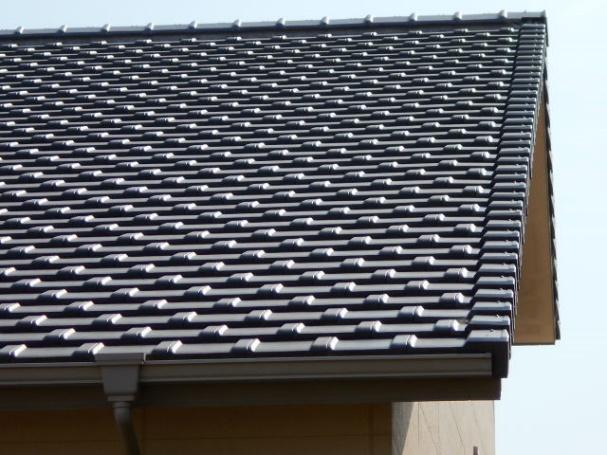 屋根のケラバ写真