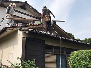 写真:M様邸の施工前