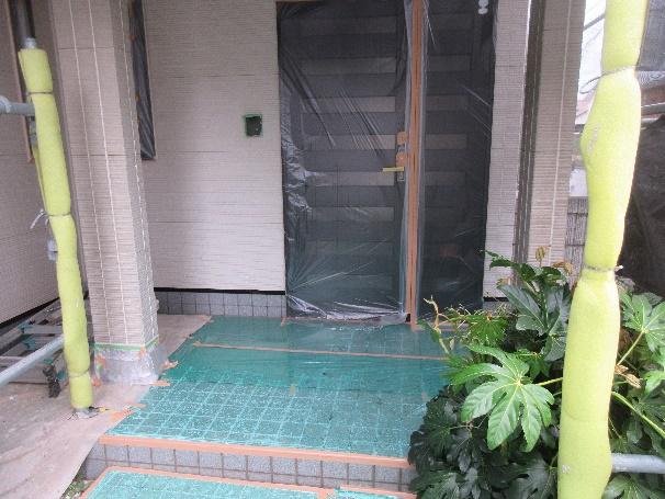 写真:玄関周辺