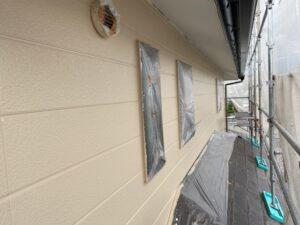 写真:2階上塗り完了