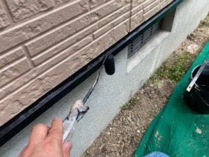 写真:雨切り板金塗装