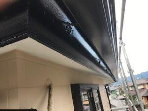 写真:破風板・雨樋の完了写真