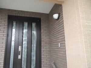 写真:玄関付近
