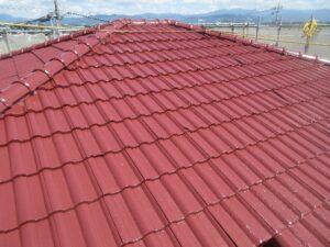 2階屋根仕上がり