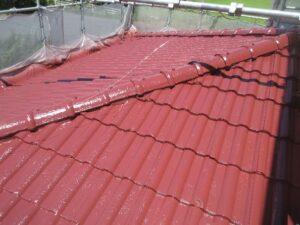 1階屋根仕上がり